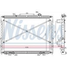 Радиатор DAF CF 1940148, 2049371, 8MK376908021, 606496