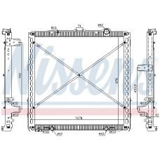 Радиатор DAF CF 1909449, 1940146, 2049369, 2114242, 8MK376903041, 61449